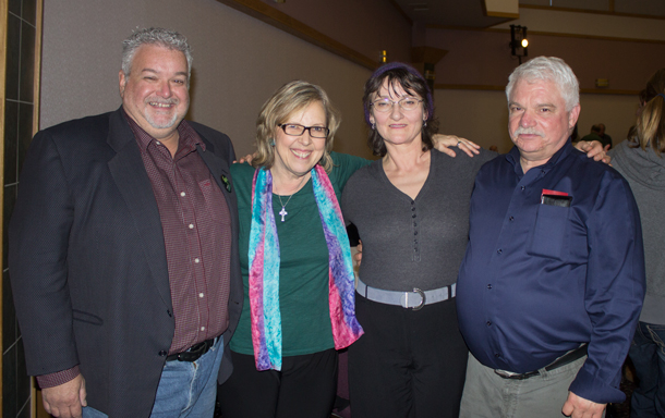 Green Party Leader Elizabeth May in Thunder Bay for Earth Day