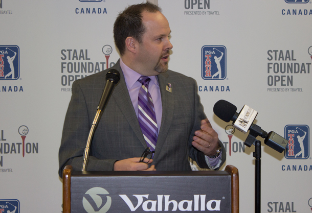 """""""The Health Sciences Foundation is extremely pleased to be working alongside the Staal Foundation Open presented by Tbaytel"""", said Glenn Craig, President and CEO of the Thunder Bay Regional Health Sciences Foundation"""