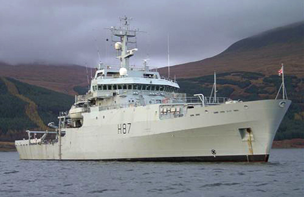 The HMS Echo has joined the search for Malaysia Airlines MH370