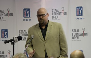 Walter Keating Jr. Shares the excitement of building the local content of the Staal Foundation Open