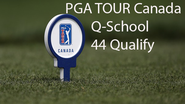 Forty-four golfers have gained PGA TOUR Canada cards at Q-School