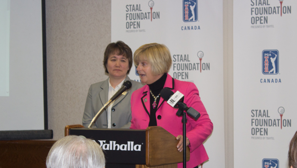 St Joeseph's Care Group is pleased to be a part of the PGA TOUR Canada Staal Foundation Open.