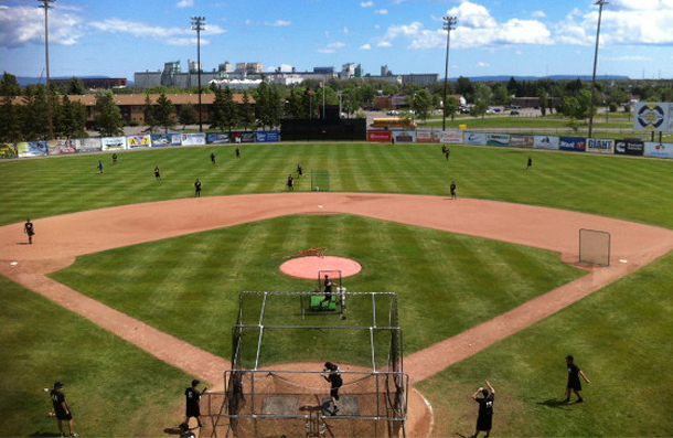 The Thunder Bay Border Cats start the 2014 Season here at home. Baseball starts May 27th.