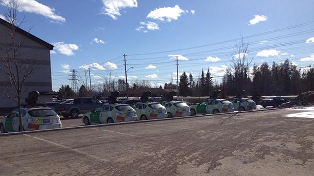 Ten Google Cars are in Thunder Bay today, capturing updated images for Google Maps