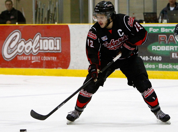 Player of the game honours went to Lakers' captain Cody Wickstrom and Kovachis of the Patriots. - Photo Supplied