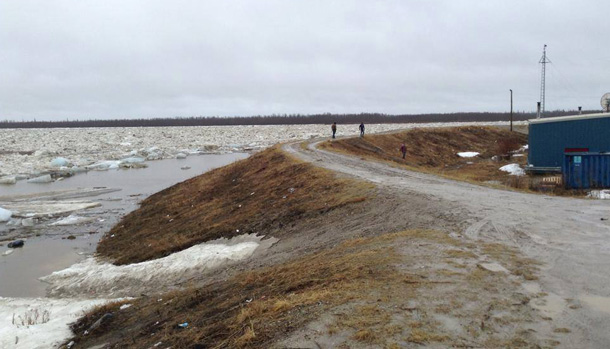 High Water in Kashechewan.