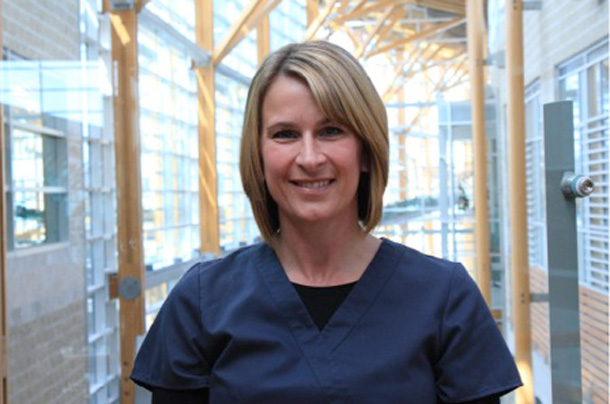 Lori Hygaard, RN with the Cancer Program at Thunder Bay Regional Health Sciences Centre, won a 2014 Human Touch Award from Cancer Care Ontario.