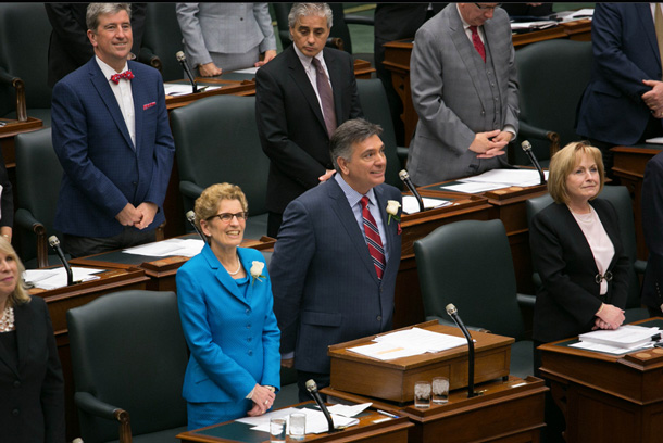 The 2014 Ontario Budget has been delivered in Queen's Park.