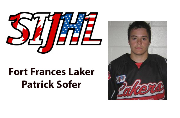 SIJHL Fort Frances Laker Patrick Sofer off to University in Chicago