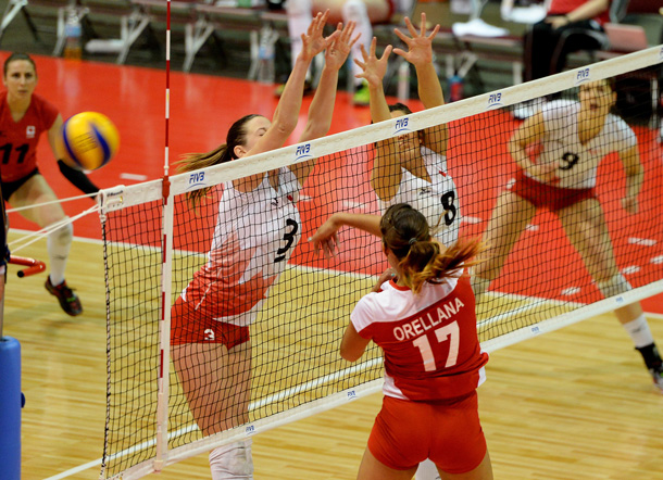 Photo Credit; Phil MacCallum, Volleyball Canada