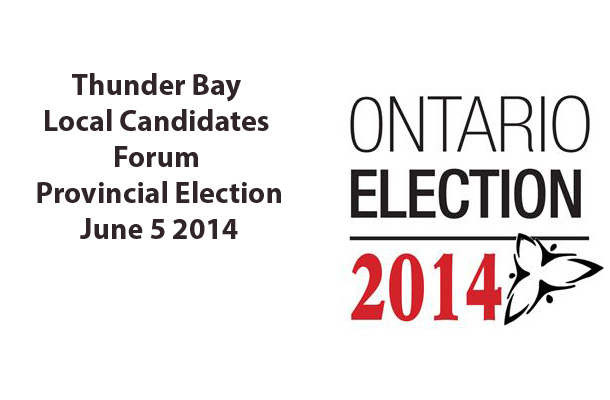 Thunder Bay Local Candidates Forum