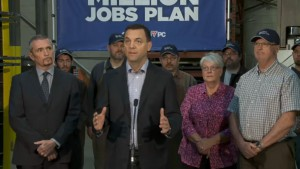 Tim Hudak tax cuts and a salary freeze will create 47,000 jobs