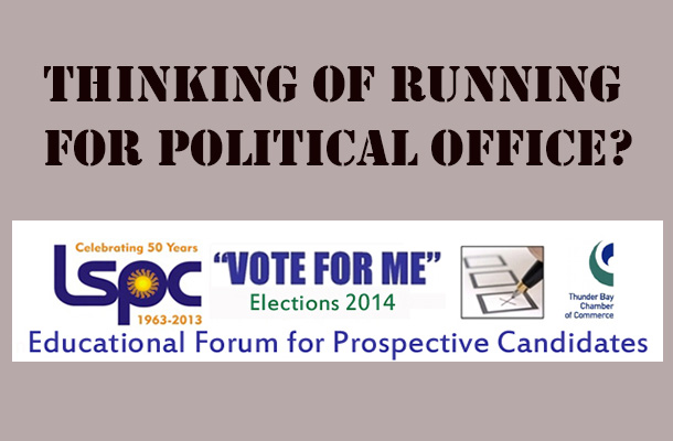 Vote for Me forum on May 24 2014