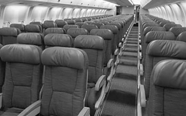 Bacteria can last up to a week on an airline seat or armrest.