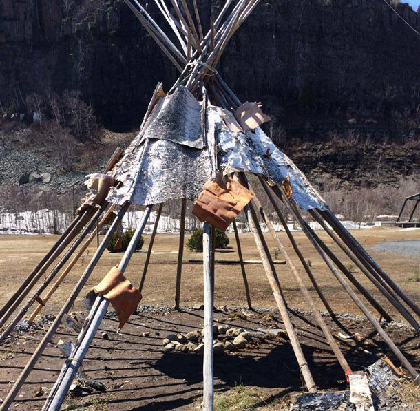 Desecration of the Wigwam has left the community very concerned.