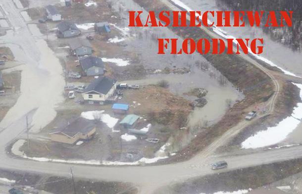 Aerial Image of Kashechewan - Supplied.