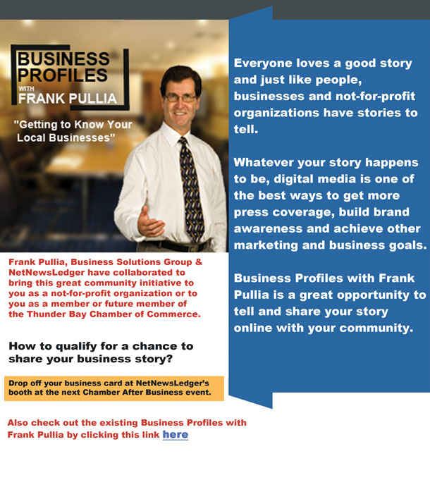 Business Profiles with Frank Pullia