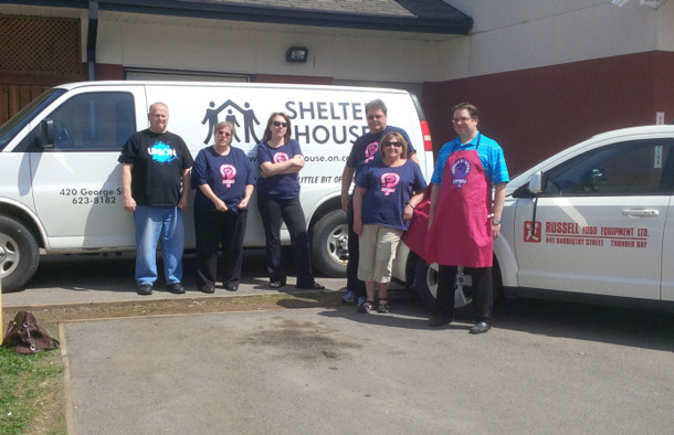 Combined efforts of OPSEU and Russell Foods are helping Shelter House
