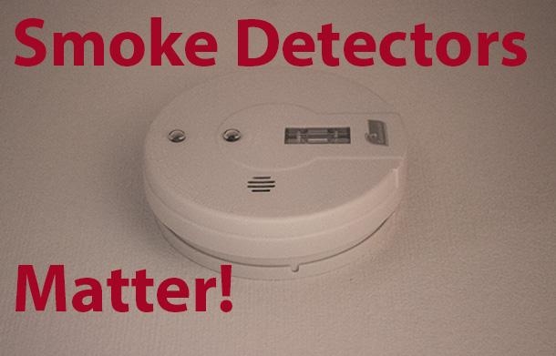 Thunder Bay Fire Rescue has a zero tolerance policy when it comes to smoke detectors.