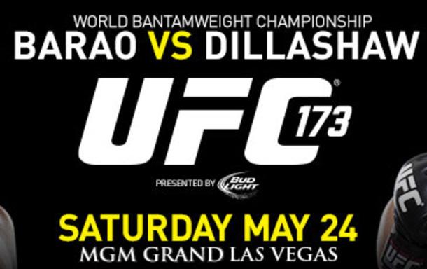 UFC 173 in Las Vegas