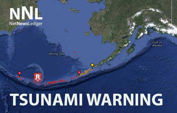 Tsunami Warning for BC Coast issued on June 23 2014
