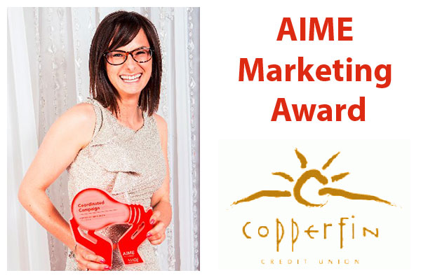 Copperfin wins AIME Award