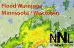 Flood Warnings in Minnesota / Wisconsin