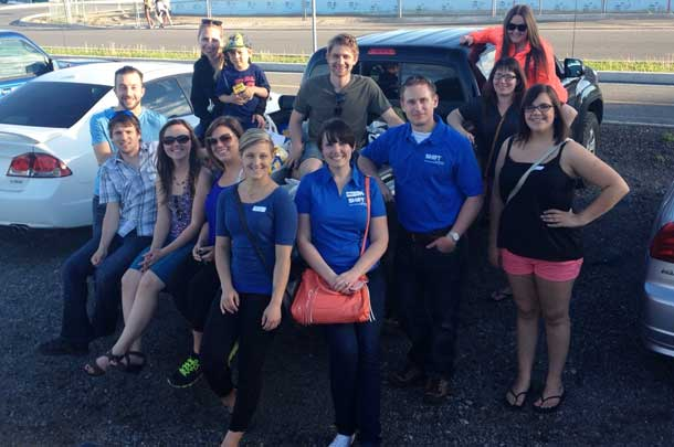 SHIFT Thunder Bay's Young Professionals Network is pleased to announce that the 3rd Annual Drive Away Hunger was a success with collecting 590 pounds of non-perishable food items for the Regional Food Distribution Association (RFDA)