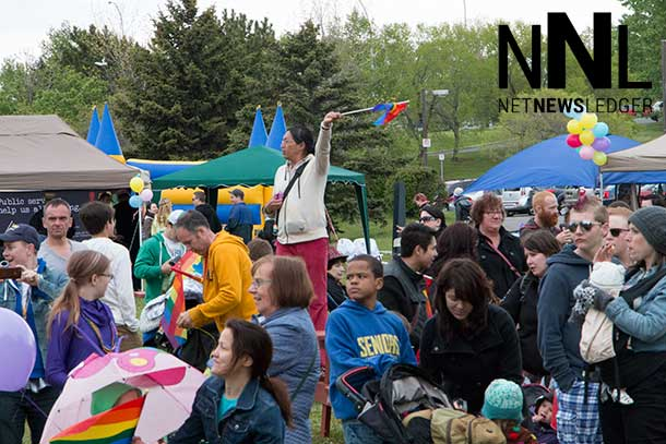 Celebrating differences and similarities at the Thunder Pride Festival