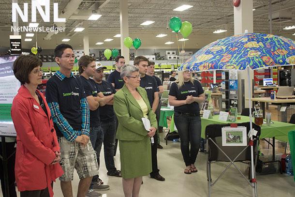 Youth Entrepreneurship was the scene at Staples Thunder Bay on Wednesday