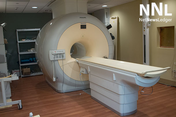 MRI machine at Thunder Bay Regional Health Sciences Centre