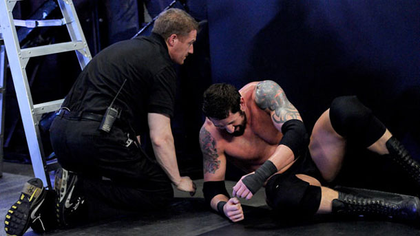 Bad News Barrett has a shoulder injury and may be unable to compete Sunday