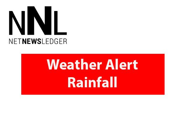 Weather Alert Rainfall