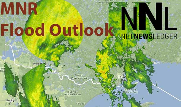 The MNR have issued a Flood Outlook for Shebandewan