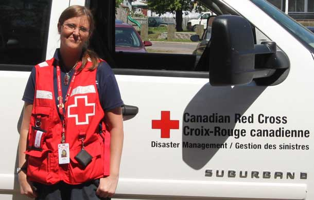 LJ is still determined to keep helping the Canadian Red Cross.
