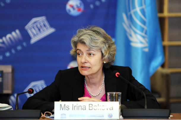 Director-General of UNESCO Irina Bokova. Photo: UNESCO/Danica Bijeljac
