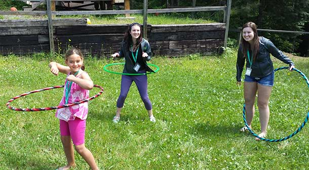 All smiles and fun at Camp Quality