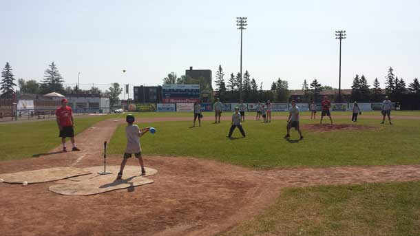 Camp Quality offers youth and their families a very important and enjoyable week. Here they are at play.