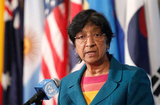 High Commissioner for Human Rights Navi Pillay. UN Photo/Paulo Filgueiras