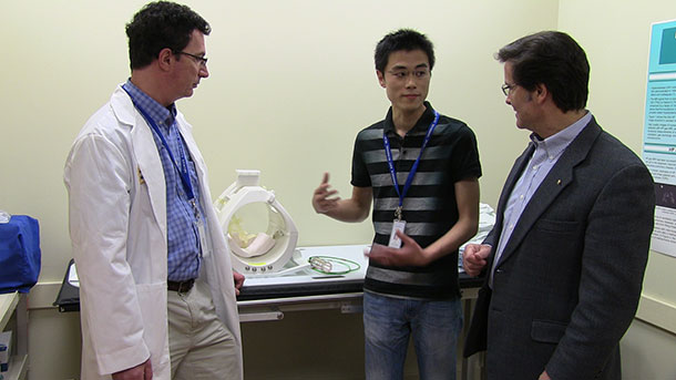 Dr. Albert leads a team of researchers in Thunder Bay at the TBRHSC.
