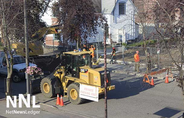 Brodie Street Construction on July 17 2014
