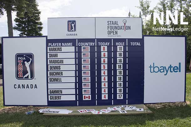 Through the first round of the PGA TOUR Canada Staal Foundation Open.