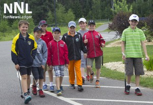 Young future professional golfers are in a clinic at the Whitewater Golf Course this week.