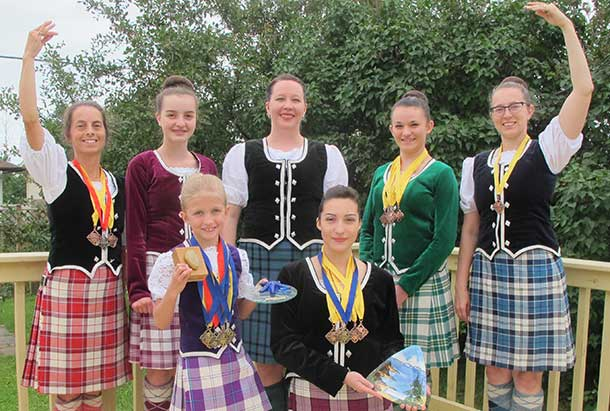 Thunder Bay Highland Dancers make Thunder Bay Proud.