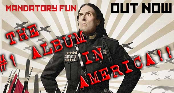 Weird Al is atop the charts with his latest Mandatory Fun