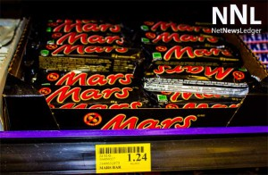 That tasty Mars Bar is going to climb in price by at least a dime.