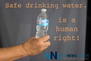 Safe drinking water is important