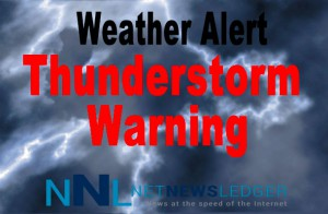 Thunder Storm Warning