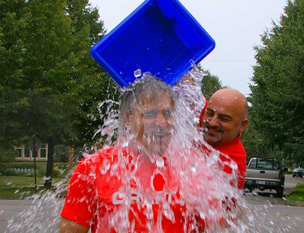 Bill Mauro ALS Ice Bucket Challenge
