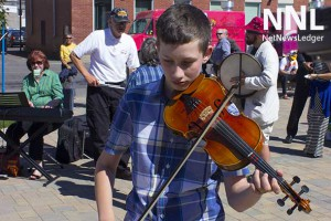 Alex Ratz with the Kam Valley Fiddlers won his age group at the famous Minnesota State Fair